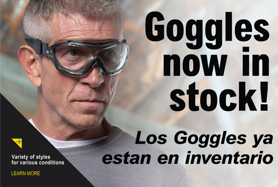 Goggles Now In Stock